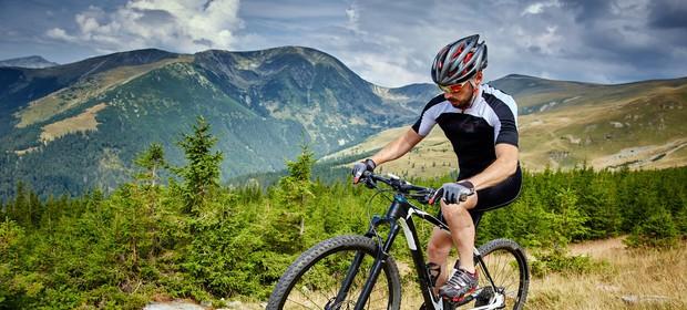 kolesarska oprema za bolj varno gorsko kolesarjenje
